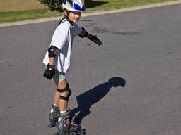 Rollerskating is a great kid activity