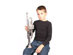 The trumpet may be the right instrument for your kids
