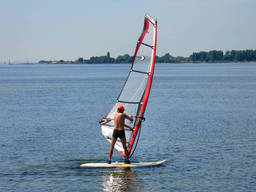 Windsurfing is for kids of all ages… and is always fun!