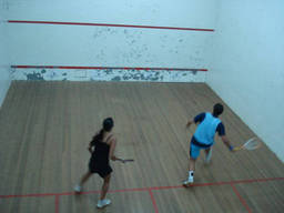 Squash is full of fun… and sweat!