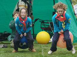 Joey Scouting enables kids to join in competitive and physical activities to have a great time.