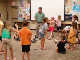 Kids can enjoy play-acting in a theatre workshop.