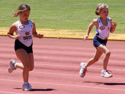 Participating in a Little Athletics event boosts the self-confidence of kids.