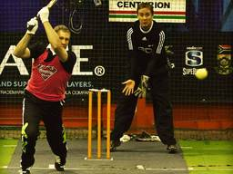 Professional cricket games are also held within indoor cricket courts to protect players and fans from the weather.