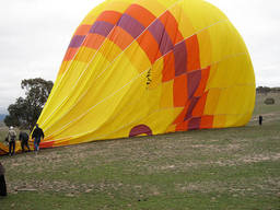 Balloon pilots make sure you take off and land safely.