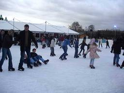 Ice skating is a fun activity for the whole family especially during the winter season.