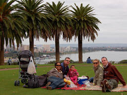 A fun family day out at Kings Park.