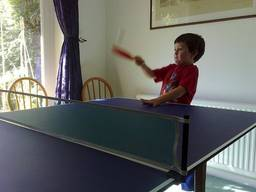Table tennis is a sport for all ages!