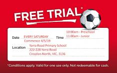 Free Trial (Limited Spots Available) Doncaster East Pre School Sports _small