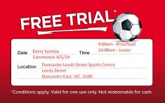 Free Trial (Limited Spots Available) Doncaster East Pre School Sports 3 _small