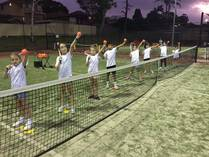 Term 3 group lessons for kids aged 6-10 Condell Park Tennis Classes & Lessons 4