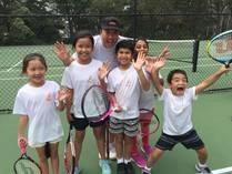 Term 3 group lessons for kids aged 6-10 Condell Park Tennis Classes & Lessons 2