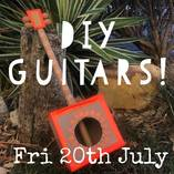 DIY GUITARS July School Holiday Workshop Randwick Arts & Crafts School Holiday Activities 4