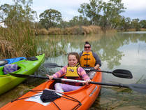 Winter Special - 20% off all guided kayak tours for groups of 4 or more Berri Family Holidays 3