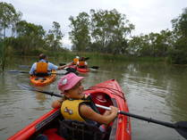 Winter Special - 20% off all guided kayak tours for groups of 4 or more Berri Family Holidays 2