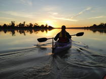 Winter Special - 20% off all guided kayak tours for groups of 4 or more Berri Family Holidays 1