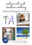 Online Live Art and Writing Workshops Kellyville Arts & Crafts School Holiday Activities _small