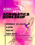 Acrobatic Workshop 8yrs+ Werribee Ballet Dancing Schools 4
