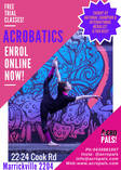 AcroPals Free Open Day Launch Parties! Marrickville Gymnastics Classes & Lessons 2