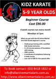 Kids Karate Introductory Course + Free Uniform Epping Self Defence Classes & Lessons 2