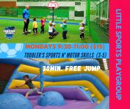 Little Sports Playgroup $15/session Springvale South Play School Holiday Activities 2 _small
