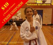 $49 for 4 week trial with FREE Uniform Canberra City Taekwondo Classes & Lessons 3 _small