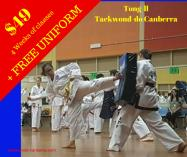 $49 for 4 week trial with FREE Uniform Canberra City Taekwondo Classes & Lessons 2 _small