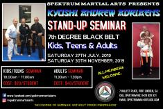 Kyoshi Andrew Adrieans Stand-Up Seminar Port Lincoln Self Defence Classes & Lessons _small