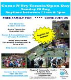 Come N Try Tennis Open Day Flagstaff Hill Tennis Clubs 4