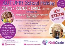 Kids Circle - Autumn Easter School Holiday Program Chatswood Extra Curricular _small