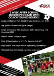 After School soccer program with Coach Younes (5 weeks) Knox City Centre Health & Wellbeing _small