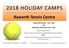 Kids holiday camp @Raworth Tennis Centre Raworth Tennis Courts _small