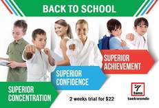 2 week trial for $22 Coorparoo Taekwondo Classes & Lessons 4