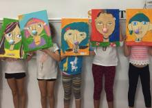 WEEKEND ART CLASSES - TERM 4 2019 - Saturday art classes for 5-8 year olds - 4pm-5.30pm St Leonards Art Classes & Lessons 2 _small