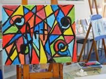 School Holiday Art Classes at Finite Gallery Caves Beach Arts & Crafts School Holiday Activities _small