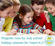 July School Holiday Classes Drummoyne Early Learning Teachers & Tutors _small