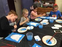 Kids Birthday parties with Canvas painting Gladesville Arts & Crafts School Holiday Activities 2