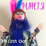 PUPPET-MAKING October Holiday Art Workshop Randwick Arts & Crafts School Holiday Activities 4