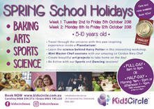 Kids Circle - Spring Holiday Program 5-10 years old (Cooking, Arts, Dancing, Sports, Science and more!) Chatswood Extra Curricular _small
