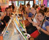 Paint Sip BYO Creative Fun Night Out Gladesville Art Schools _small