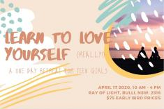 Learn To Love Yourself (really!) - A One Day Retreat For Teens Wollongong Yoga _small