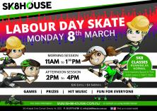 Sk8house Labour Day Skate Carrum Downs Roller Skating Rinks _small
