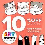 10% Off Any Lesson Box Hill North Arts & Crafts School Holiday Activities _small