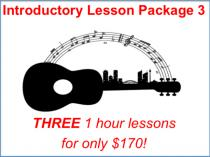 3 x 1 hour lessons for only $170! Artarmon Guitar Classes & Lessons _small