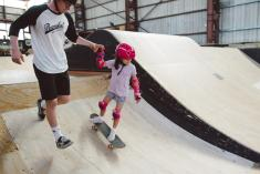 First Timers Learn to Ride / Skate / Scoot Pass Braybrook Skateboard Parks 2 _small
