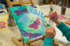 Kids After School Monday Painting-ONLINE Mornington Art Classes & Lessons 3 _small