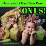 UNLIMITED 7 Day class pass - ON US! Tennyson Theatre Classes & Lessons _small