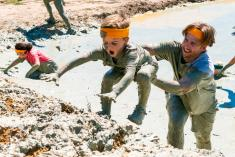 Raw Challenge mud/obstacle parties Doyalson Outdoor & Adventure School Holiday Activities 4 _small