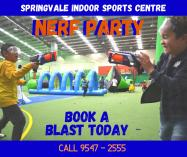 Nerf Blast Party ($250 for 10 children) Springvale South Play School Holiday Activities _small