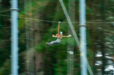 Rock Climb, Abseil and Zipline Experience Piccadilly Adventure 3 _small